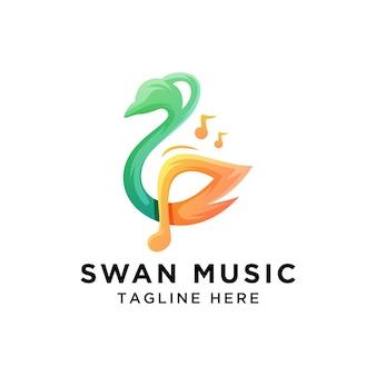 Logo musicale del cigno