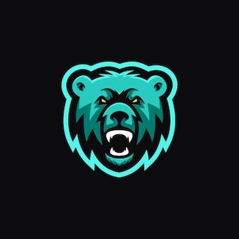 Logo orso testa