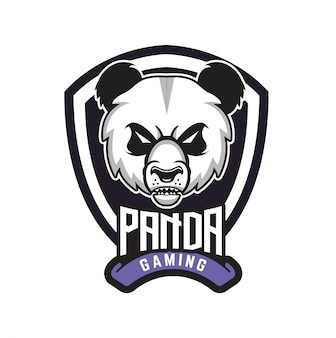 Logo panda gaming