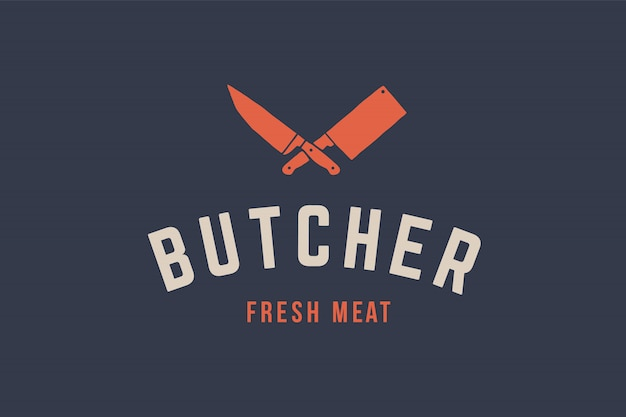 Logo per carne di macelleria