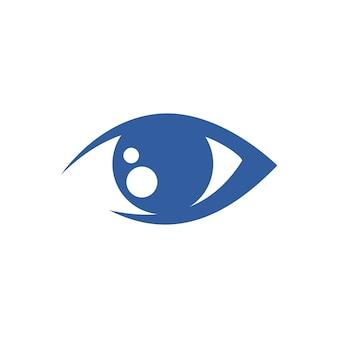 Logo per la cura degli occhi