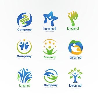 Logo per la cura della comunità