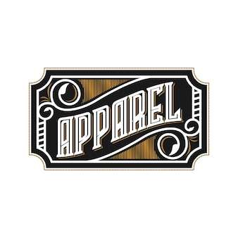 Logo per negozio di moda e abbigliamento