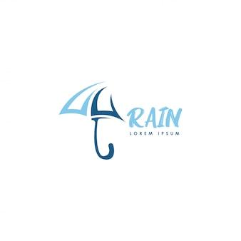 Logo pioggia