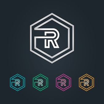 Logo r esagone