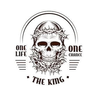 Logo retrò gangster