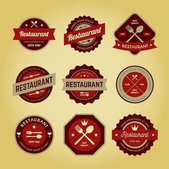 Logo ristorante vintage