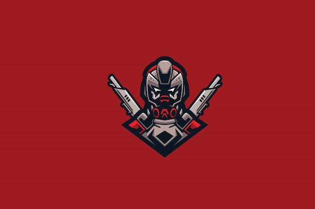 Logo robo gun e sports