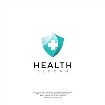 Logo sanitario, medico, farmacia