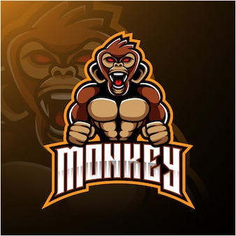Logo scimmia arrabbiata