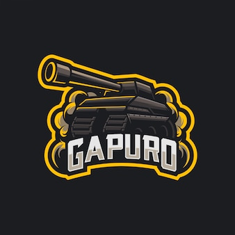 Logo serbatoio esport