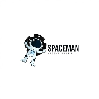 Logo spaceman