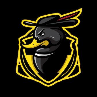 Logo sportivo del ranger del germano reale scuro
