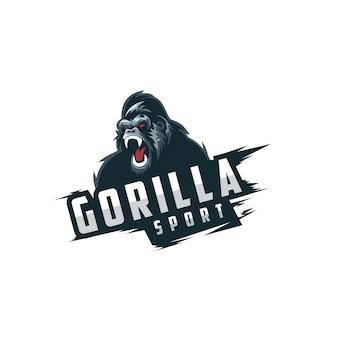 Logo sportivo gorilla