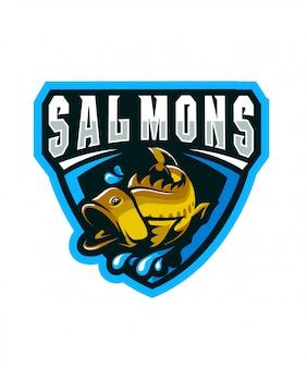 Logo sportivo salmons