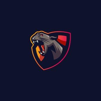 Logo sportivo tiger
