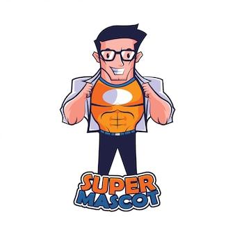 Logo super mascotte