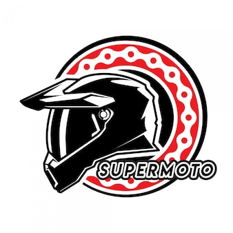 Logo super moto sport