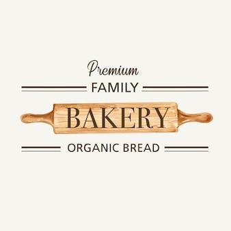 Logo symbol modello di panetteria.