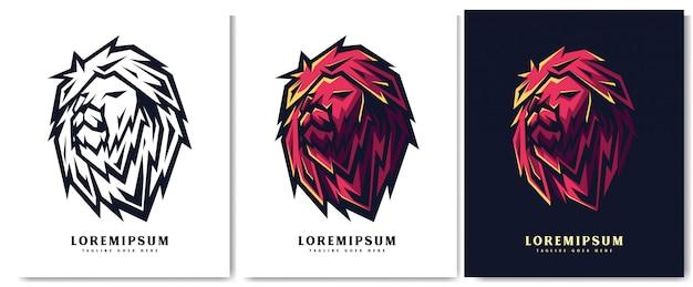 Logo testa di leone