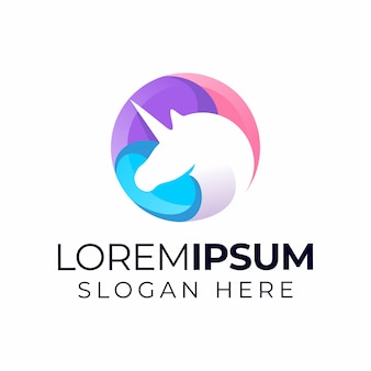 Logo unicorno
