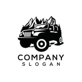 Logo vettoriale avventura