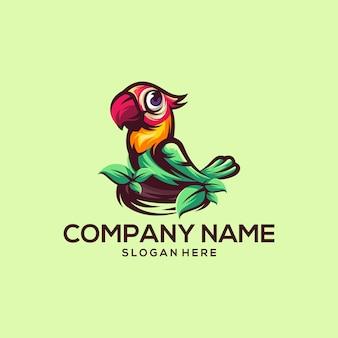 Logo vettoriale di uccello