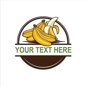 Logo vintage banana