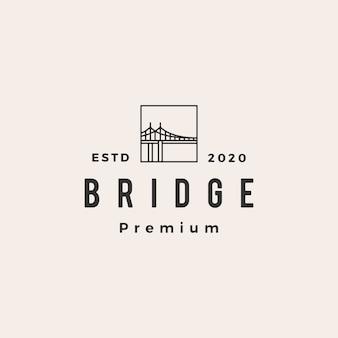 Logo vintage bridge