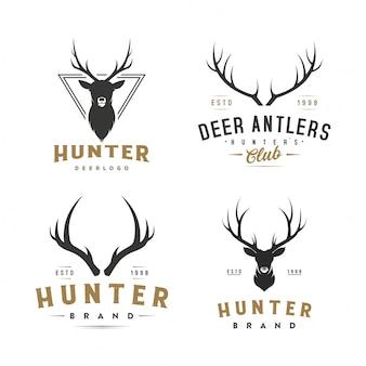 Logo vintage cervo