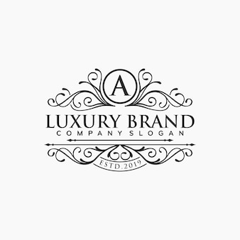Logo vintage e di lusso