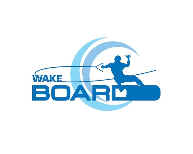 Logo wakeboard