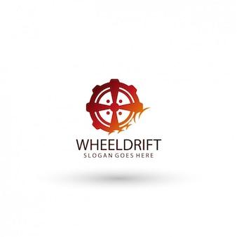 Logo wheel template