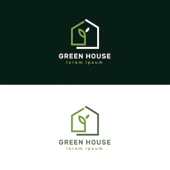 Logotipi immobiliari di lusso ed eleganti