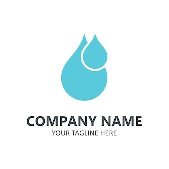 Logotipo di acqua pura
