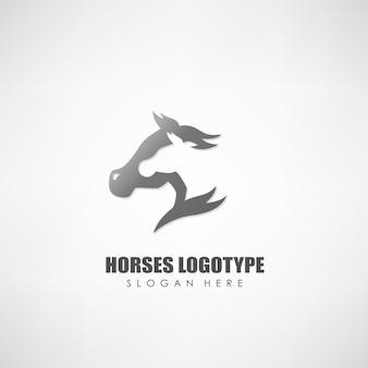 Logotipo di cavalli