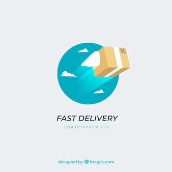 Logotipo di consegna