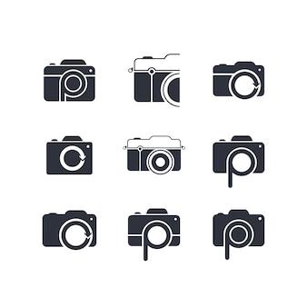 Logotipo di tema fotografico