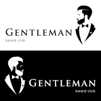 Logotipo gentleman