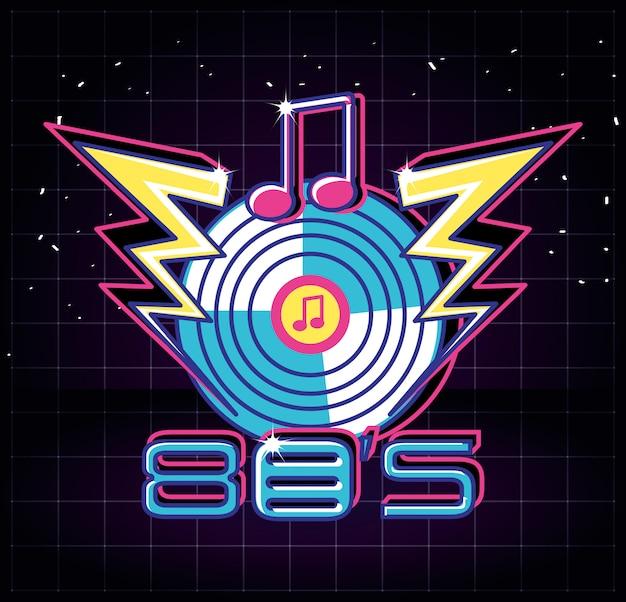 Long play stile anni '80