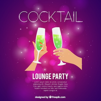 Lounge party background