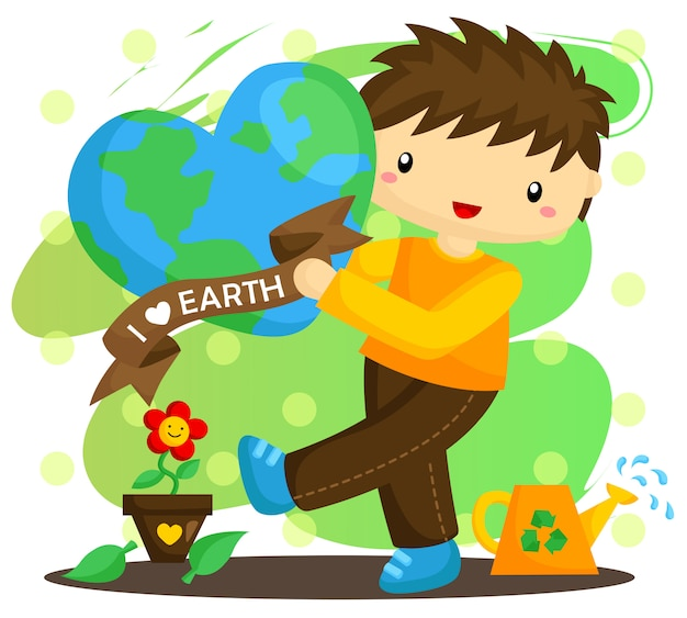 Love earth boy