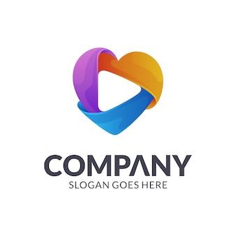 Love play logo design
