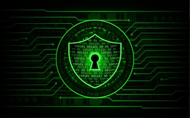 Lucchetto chiuso su sfondo digitale, sicurezza informatica