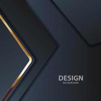 Luce di fondo nero con colore astratto moderno