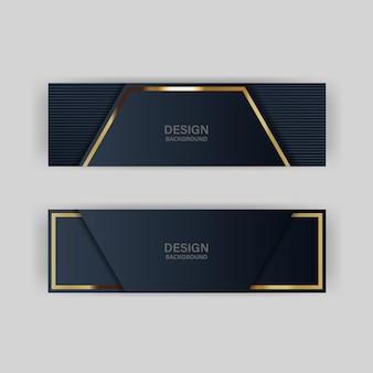 Luce di sfondo glitter con colore astratto tecnologia moderna banner oro