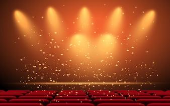 Luce sul palco