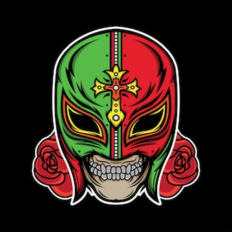 Lucha libre tattoo