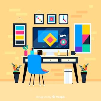 Luogo di progettazione grafica