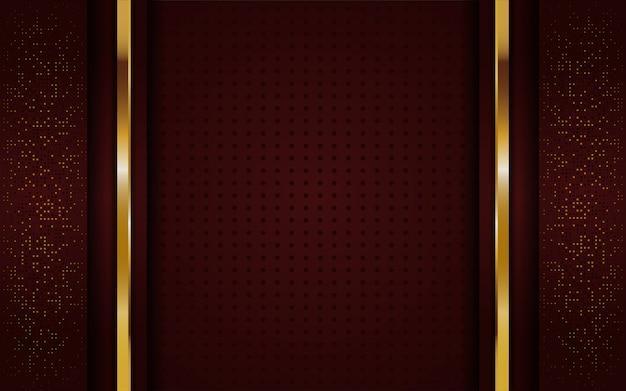Lussuoso elegante sfondo marrone dorato
